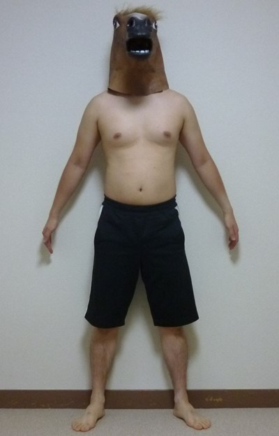 rizap体の変化写真